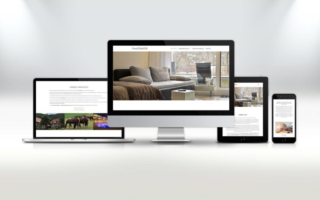 Webdesign Fewo