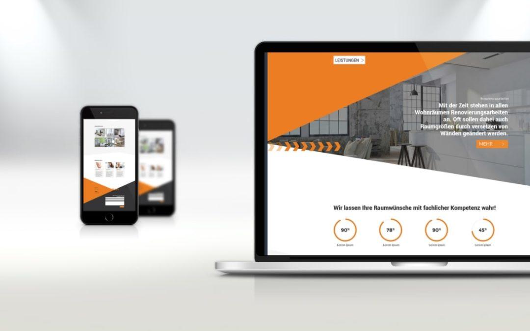 Webdesign Raumdesign Uhlmann