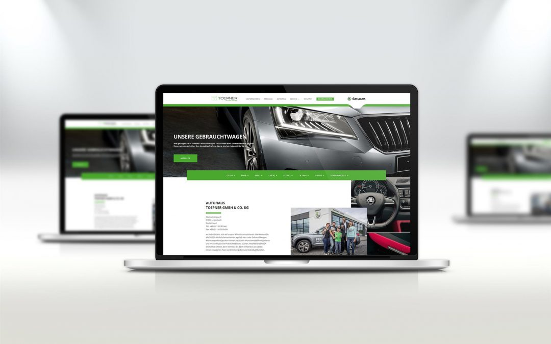 Webdesign Autohaus Töpner