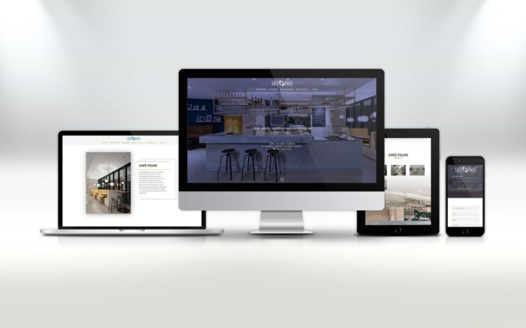 Webdesign Cafe Pause