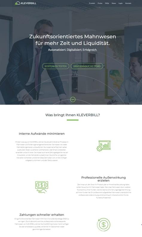 WordPress Seite Kleverbill